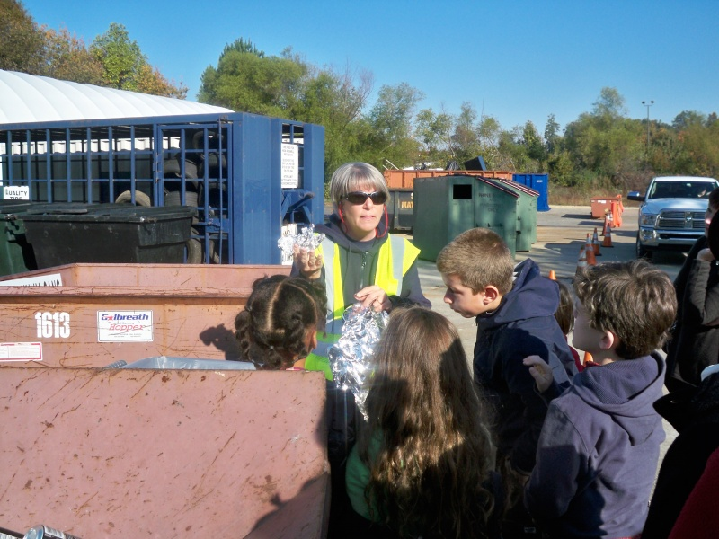 Roswell Recycling Center >> Field Trip to Roswell Recycling Center