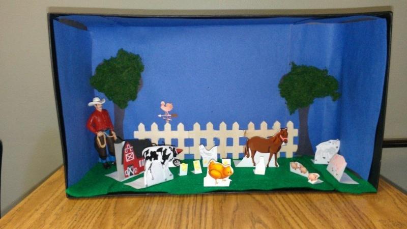 Animal Farm Dioramas