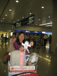 Flat Stanley in China
