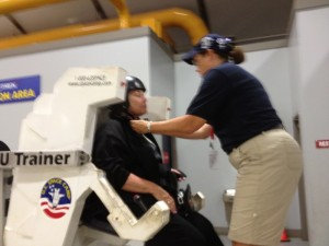Ms. Radle Goes to Space Camp