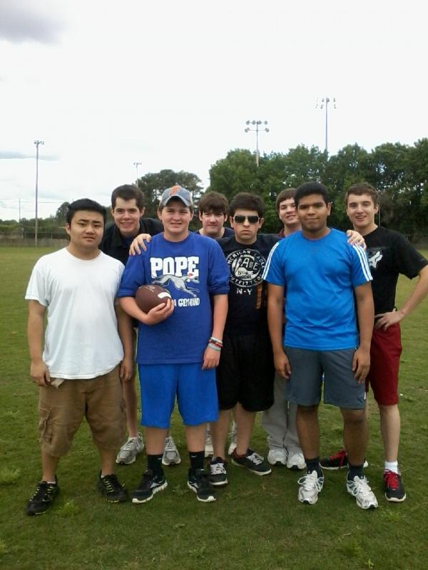 Flag Football Group Pic