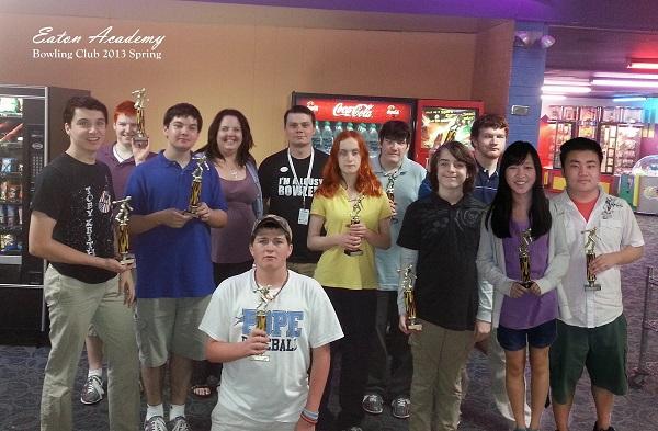 eahs bowling club spring 2013