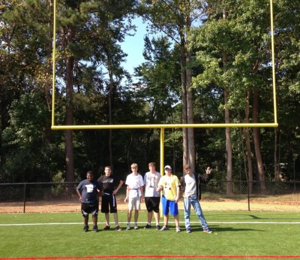 2013 Flag Football team