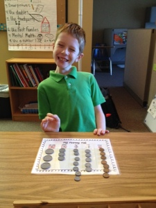 Landforms and Touch Math