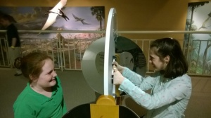 Students at Eaton Academy visit the Fernbank Museum