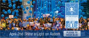 Light It Up Blue – World Autism Day